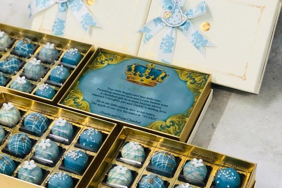 Birth Announcement chocolates