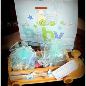 Baby shower Chocolate gift